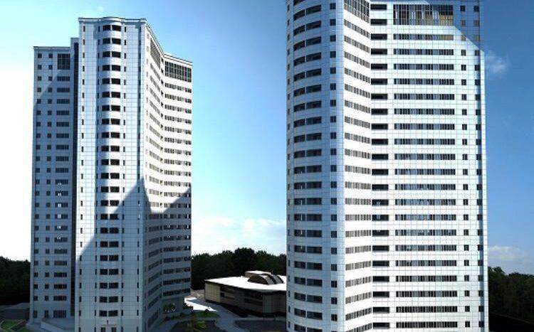 برج دوقلو های سپهر پردیس دهکده المپیک منطقه 22